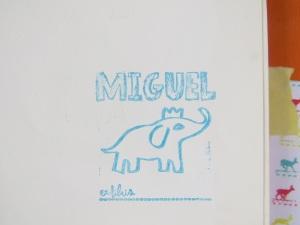Ex libros Miguel