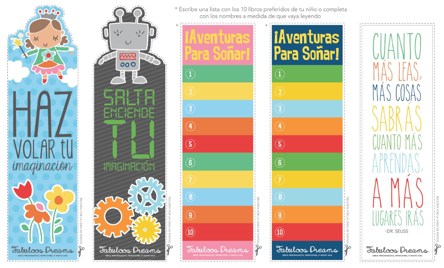 Plantillas Separadores De Libros Para Imprimir - Imagui @tataya.com.mx